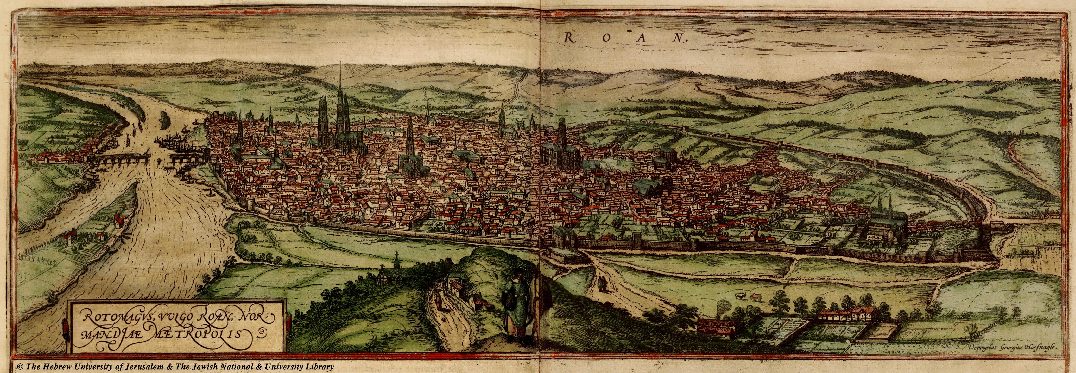Rouen au Moyen Age - Blog Histoire Géo