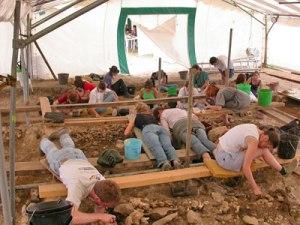 fouilles