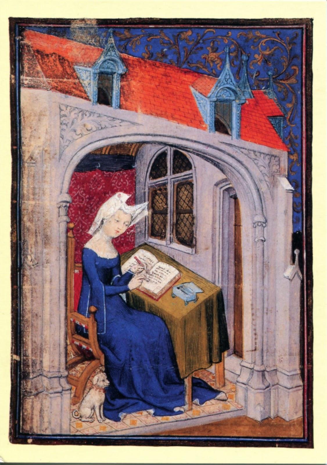 Christine De Pisan Jeune Ans Se Charge