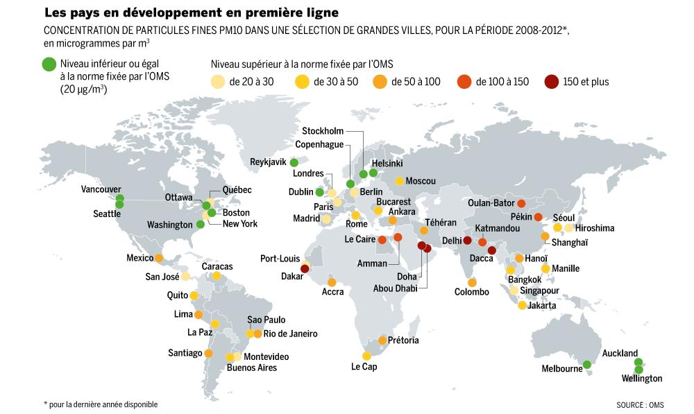 La pollution dans les grandes villes du monde blog histoire g o - La plus grande villa du monde ...