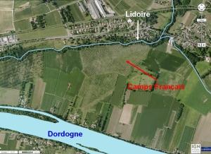 bataille-de-castillon-Camps-Français-lidoire