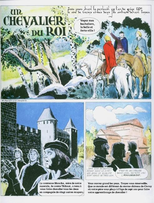 Histoire de France - 07 - La chevalerie, Philippe le Bel - 04 copie