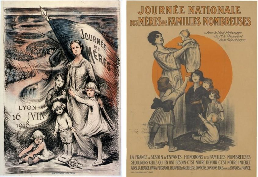Deux affiches de 1918 et 1920