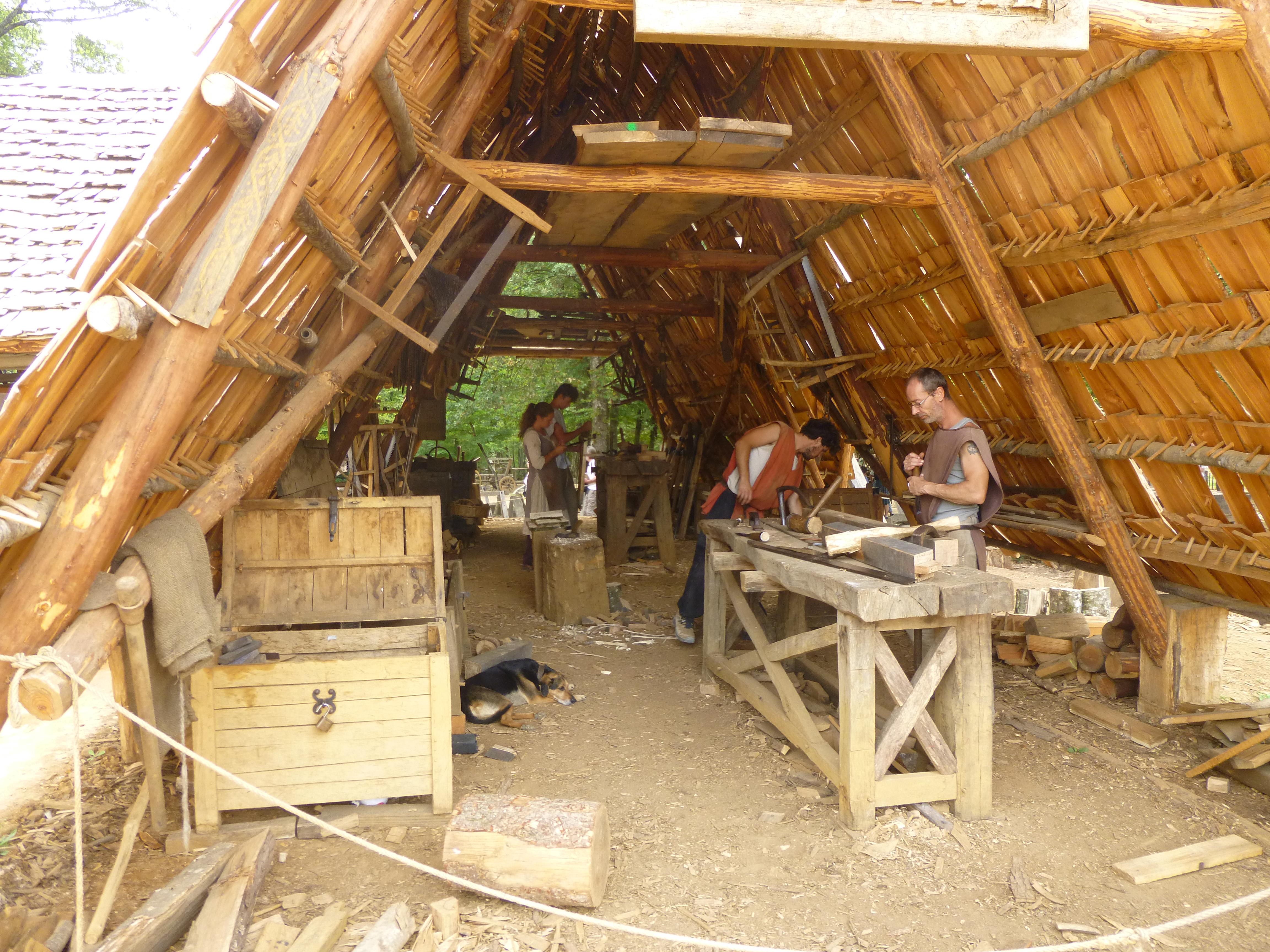 Le chantier médiéval de Guédelon – Blog Histoire Géo