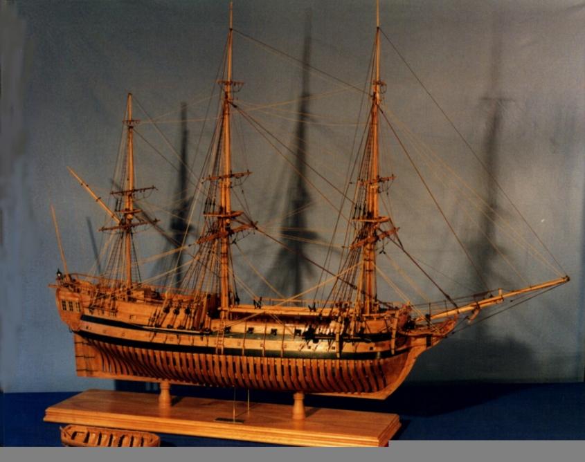 Maquette du négrier Aurore