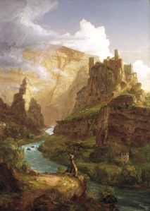 The_Fountain_of_Vaucluse_by_Thomas_Cole