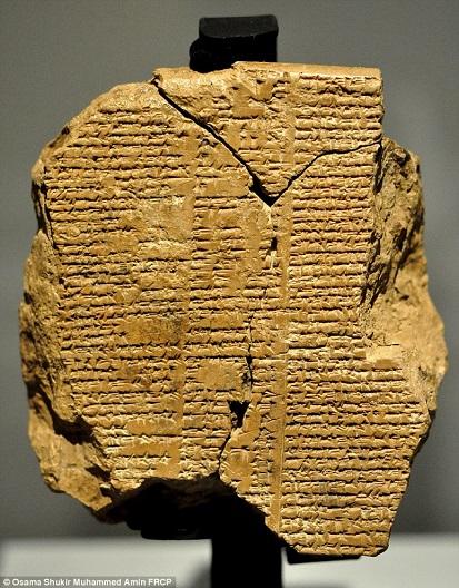 Epopée de Gilgamesh de nouvelles lignes manquantes découvertes dans un musée irakien-1