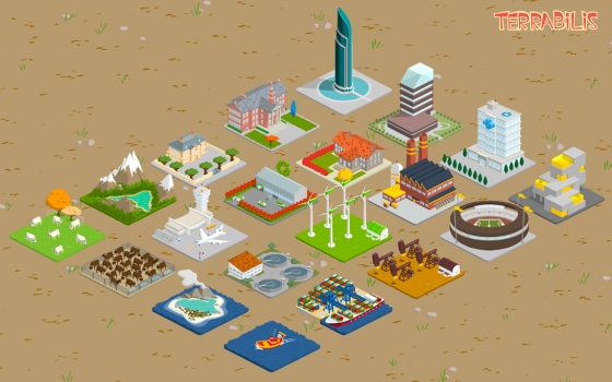 Les bâtiments à construire