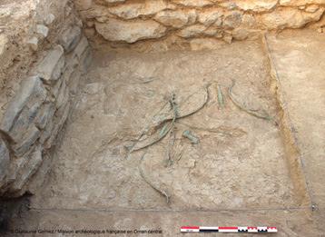 Un ensemble exceptionnel d'armes en bronze mis au jour dans le Sultanat d'Oman-2