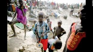 Enfants du Soudan du sud