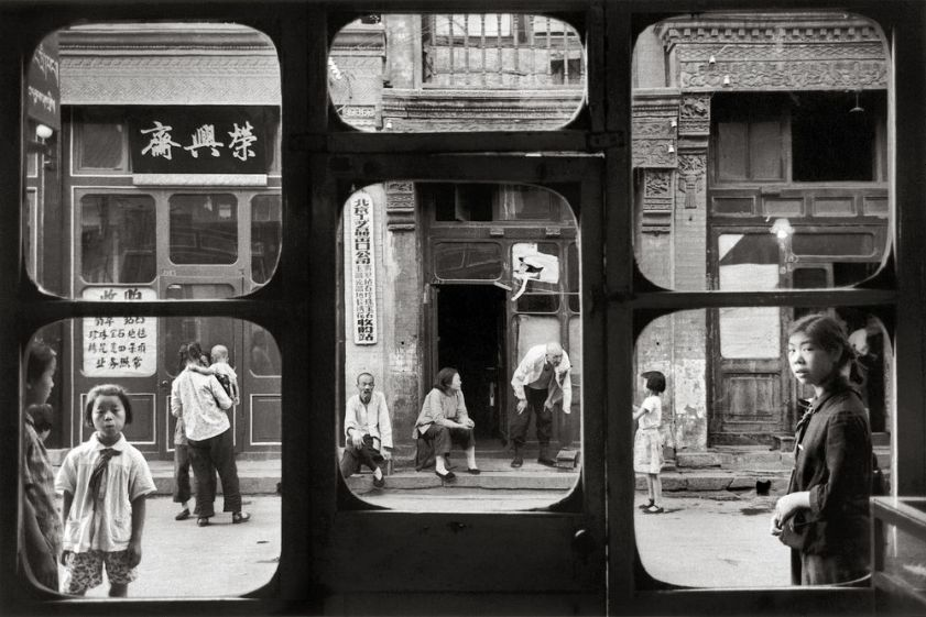 Pékin, 1965, rue des antiquaires