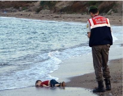 ... à 2015 (Nilüfer Demir) : le drame des réfugiés syriens
