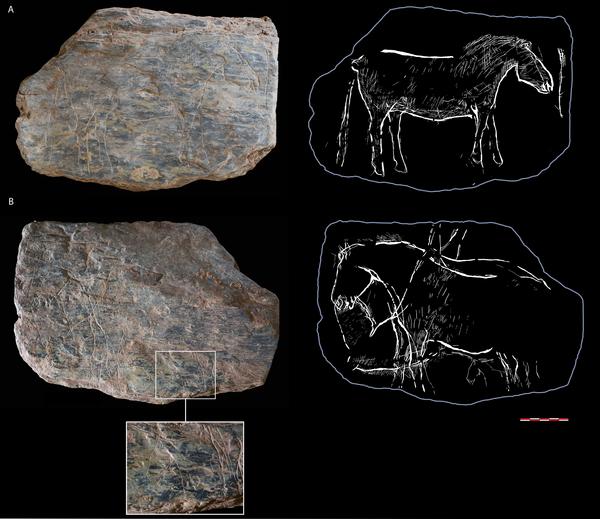 Une exceptionnelle découverte d'art rupestre vieux de 14000 ans en Bretagne-2