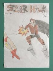 Silver Hawk est un superhéros anglais