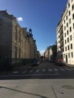 La rue Clémenceau