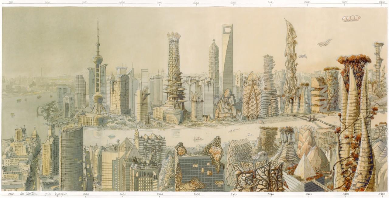Shanghai-panorama-Jaune