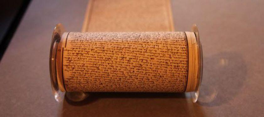 Le manuscrit en rouleau de Sade