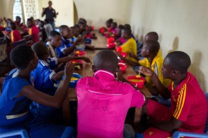 Des enfants soldats démobilisés en République démocratique du Congo