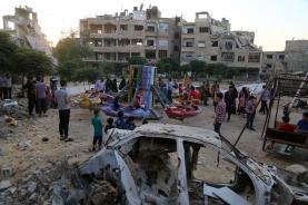 Des enfants qui jouent en Syrie