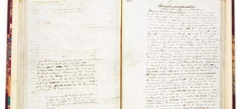 Le manuscrit de Balzac