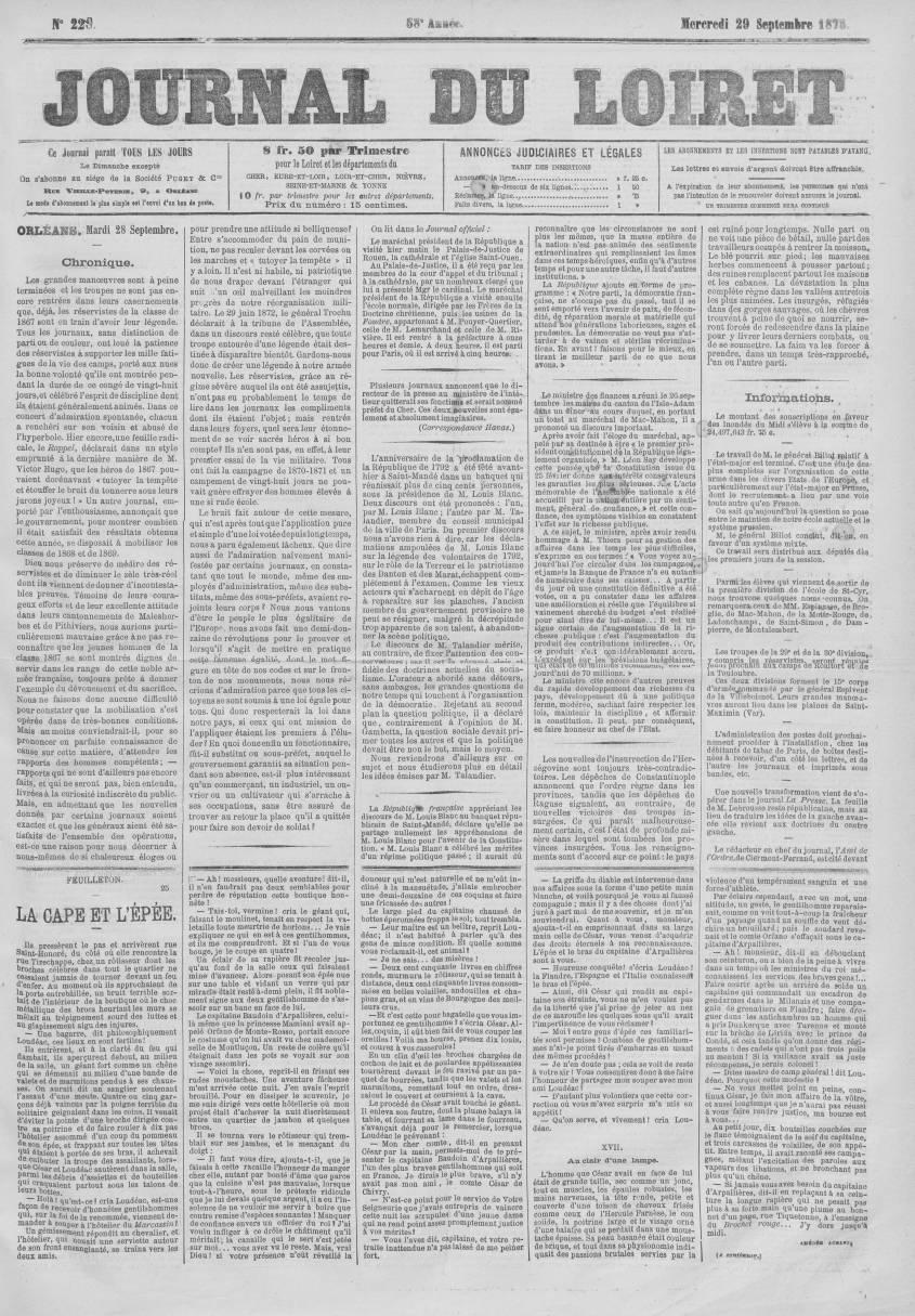 Journal du Loiret