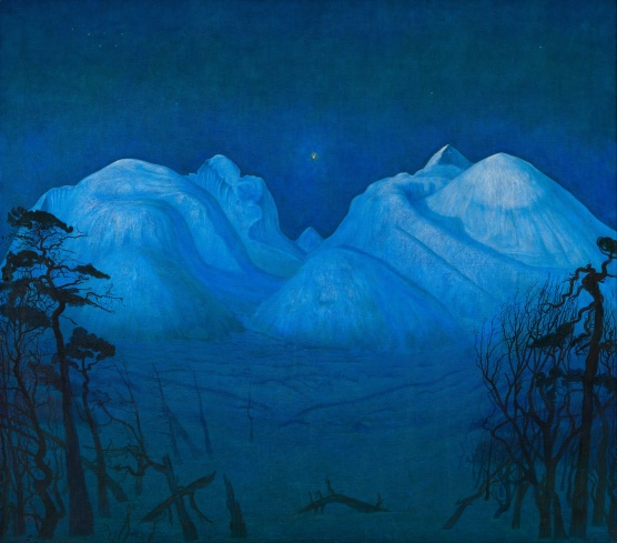 Harald_Sohlberg_-_Winter_Night_in_the_Mountains_-_Google_Art_Project