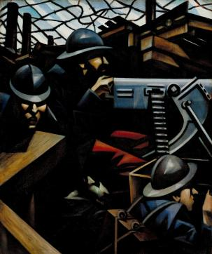 La Mitrailleuse 1915 Christopher Richard Wynne Nevinson 1889-1946 Presented by the Contemporary Art Society 1917 http://www.tate.org.uk/art/work/N03177