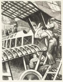 Assembling Parts 1917 Christopher Richard Wynne Nevinson 1889-1946 Presented by the Ministry of Information 1918 http://www.tate.org.uk/art/work/P03046
