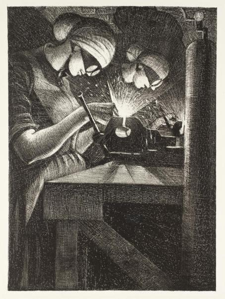 Acetylene Welding 1917 Christopher Richard Wynne Nevinson 1889-1946 Presented by the Ministry of Information 1918 http://www.tate.org.uk/art/work/P03047