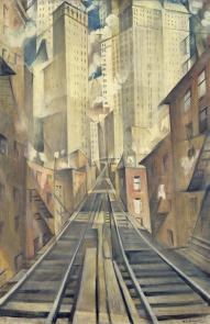 The Soul of the Soulless City ('New York - an Abstraction') 1920 Christopher Richard Wynne Nevinson 1889-1946 Presented by the Patrons of British Art through the Tate Gallery Foundation 1998 http://www.tate.org.uk/art/work/T07448