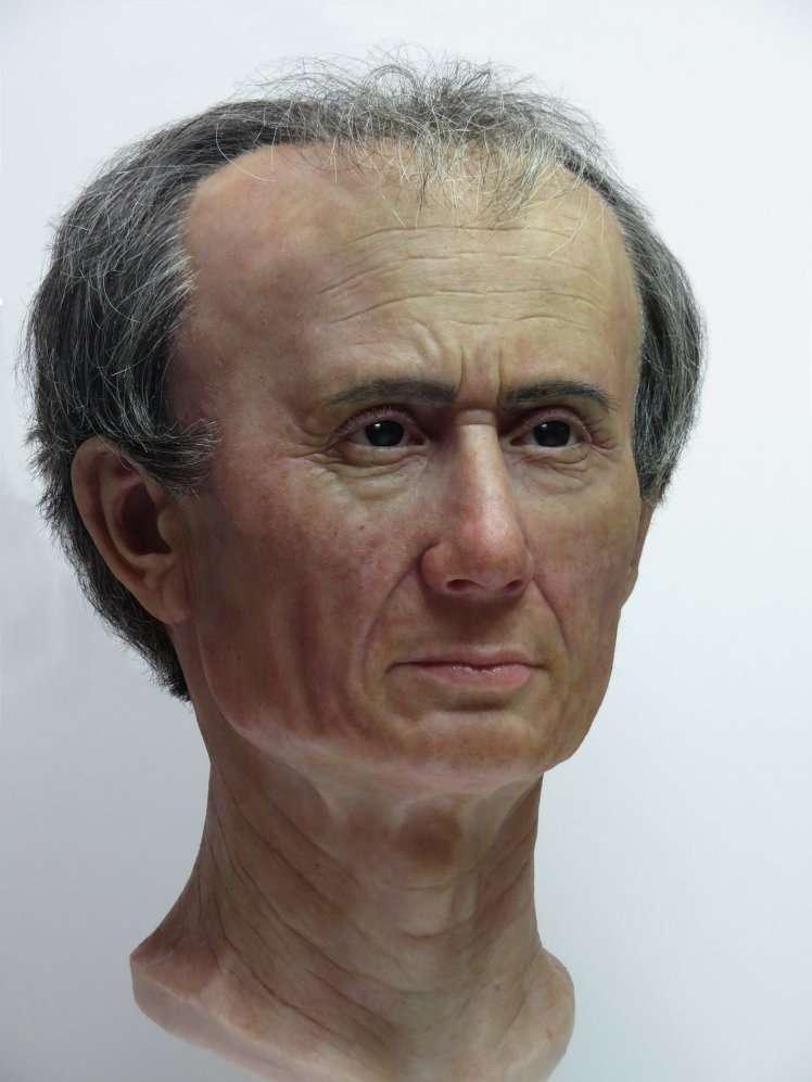Julius Caesar's head -