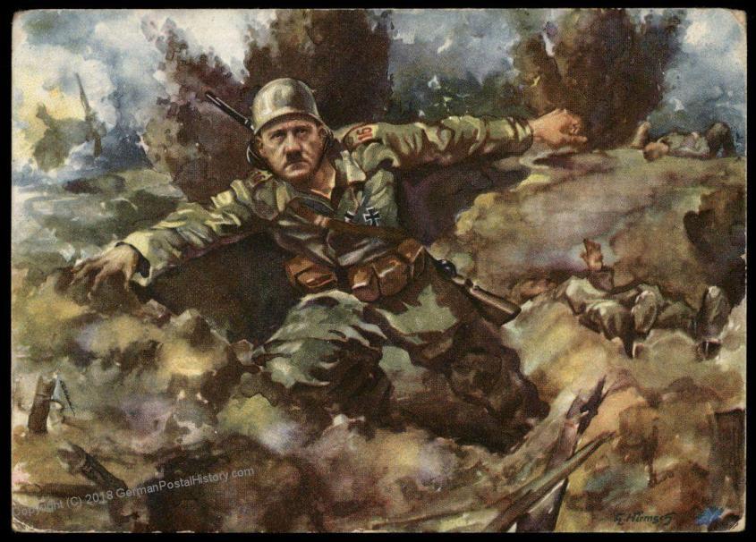 adolph hitler WWI