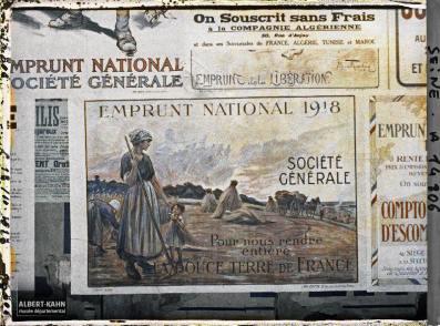 Groupe d'affiches de l'emprunt national, Paris, France. 18 octobre 1918 10
