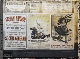 Groupe d'affiches de l'emprunt national, Paris, France. 18 octobre 1918 11