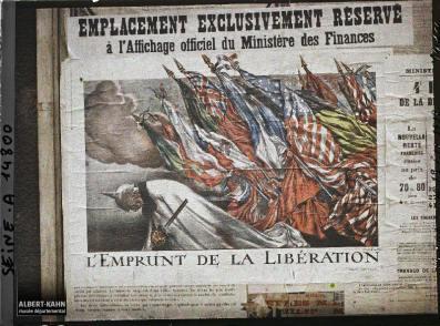 Groupe d'affiches de l'emprunt national, Paris, France. 18 octobre 1918 8