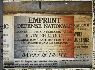 Groupe d'affiches de l'emprunt national, Paris, France. 18 octobre 1918 9