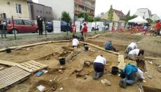 Noisy-le-Grand, vendredi matin. Les fouilles de la nécropole des Mastraits sont ouvertes au public