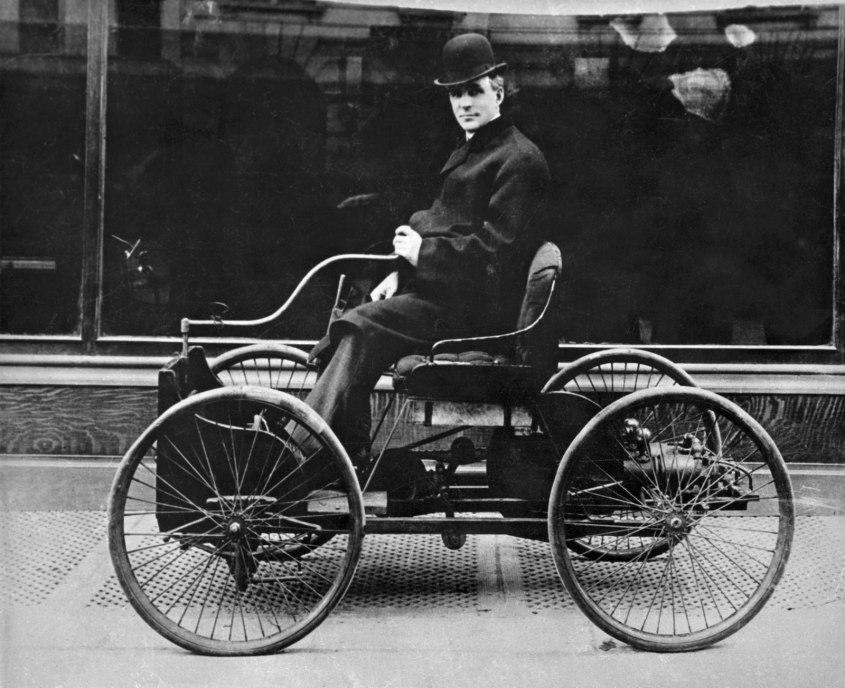 4 juin 1896 : le jour où Henry Ford fit rouler sa première voiture – Blog  Histoire Géo
