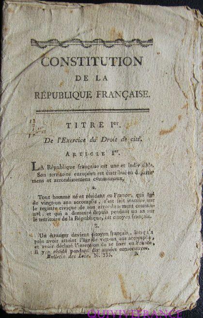 constitution an VIII